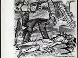 Cartoon Drawing History 1968 Russia Ends Praque Spring Democratization Of Czechoslovakia