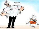 Cartoon Drawing Kerala Politics Cartoon Corner so who S Got A Broader Chest Indiatoday