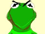 Cartoon Drawing Kermit Mad Kermit the Frog My Digital Art Kermit the Frog Digital Kermit