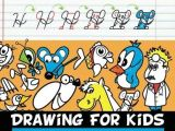 Cartoon Drawing Letters Drawing for Kids with Cursive Letters In Easy Steps Abc Cartooning