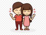 Cartoon Drawing Lovers Drawing Cartoon Couple Love Cartoon Couple Png Download 596 596