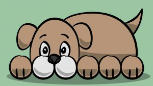 Cartoon Drawing Made Easy How to Draw A Simple Cartoon Dog 11 Steps with Pictures
