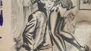 Cartoon Drawing Magazines Gee Whiz Cartoon Pinup Magazine August 1961 Bill Ward Wenzell De