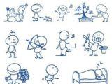 Cartoon Drawing Notes Ballpoint Pen Drawing Cartoon Vector Clip 2 A Ablone Drawings