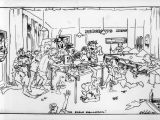 Cartoon Drawing Nz Cartoon Showing Airmen In the Sergeants Mess Titled Eagle