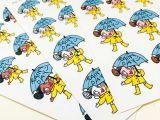 Cartoon Drawing Rainy Day Rainy Day Petty Stickers Planner Decoration Routine Etsy