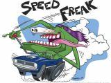 Cartoon Drawing Rat Hot Rod Monster Cartoon Character Illustration George Coghill