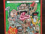 Cartoon Drawing Rat Rat Fink Comix Ratfink Ed Big Daddy Roth Comic Ratrod Custom Hot Rod