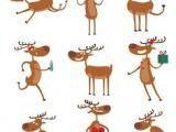 Cartoon Drawing Reindeer 30 Best Deer Cartoon Images Geometric Animal Geometric Art Art
