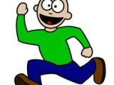 Cartoon Drawing Running Man 48 Best Characters Easy Tutorial Images Simple Cartoon