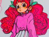 Cartoon Drawing Service Angel S Secret Art Service On Instagram is She A Strawberry is