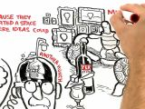 Cartoon Drawing Ted Talk where Good Ideas Come From by Steven Johnson Youtube