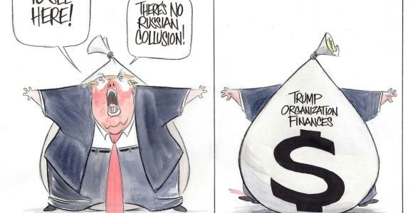 Cartoon Drawing Trump Opinion Political Satire Cartoons Politics Trump Lies the