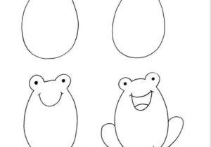 Cartoon Drawing Very Easy Pin by Virginie Haemmerli On Kids Corner Arts Crafts Drawings