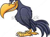 Cartoon Drawing Vulture Funny Bird Clip Art Evil Cartoon Crow Vector Clip Art