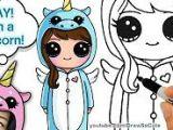 Cartoon Girl Drawing Youtube Draw so Cute Youtube A Izim Cute Drawings Drawings Cute Girl