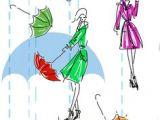 Cartoon Umbrella Drawing 396 Fantastiche Immagini Su Umbrellas Illustrations Drawings