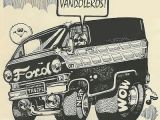 Cartoon Van Drawing Pin by Ken On Van Life Custom Vans Cars Vans