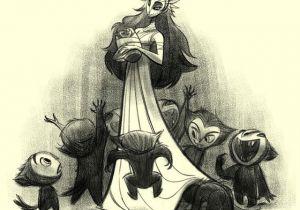 Cartoon Violin Drawing Bobby Pontillas Character Design 2013 Characters Pinterest