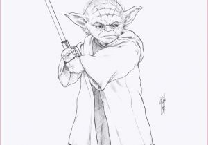 Cartoon Yoda Drawing Ausmalbilder Star Wars Yoda Besten Ausmalbilder
