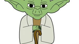 Cartoon Yoda Drawing Clip Art Yoda Cookies Star Wars Clip Art Yoda Drawing