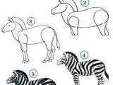 Cartoon Zebra Drawing Step by Step 45 Best Zebra Drawing Images Zebra Art Zebra Drawing Zebra Painting