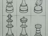 Chess Pieces Drawing Easy Techniques I by Romnick toledo On Dropr Chess Pieces