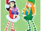 Christmas Girl Elf Drawing Xmas Stuff for Christmas Girl Elves Clip Art Library