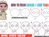 Cinderella Pictures Easy to Draw How to Draw Cute Baby Chibi Kawaii Tiana the Disney Princess
