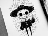 Cool Easy Halloween Drawings Behemot Crta Stvari Doodles Procrastinator Exorcist