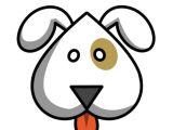 Cute and Easy Animal Drawings Upside Down Cartoon Dog Dog Drawing Simple Cute Easy