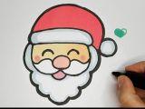 Cute Christmas Drawings Easy Step by Step How to Draw Cute Laughing Santa Emoji Step by Step
