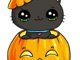 Cute Drawing Ideas for Halloween Halloween Kitty Draw so Cute In 2018 Pinterest Kawaii Cute