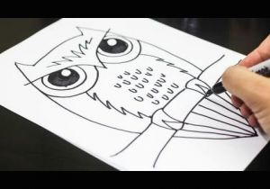 Cute Drawing Ideas Youtube How to Draw An Owl Youtube
