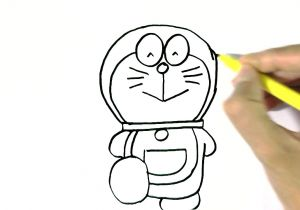 Cute Drawing Ideas Youtube How to Draw Doraemon In Easy Steps for Children Beginners Youtube