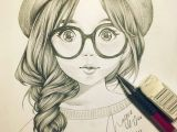 Cute Drawing Of A Girl with Glasses Cute Girl Sketch Art Drawings Drawings Pencil Portrait Pencil
