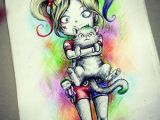 Cute Drawing Of Harley Quinn the One and Only Harley Quinn Cute Harley by Juank91 Hc N Ln E