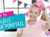 Cute Drawing Of Jojo Siwa How to Create the Perfect Jojo Siwa Side Ponytail Hair Tutorial