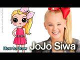 Cute Drawing Of Jojo Siwa How to Draw Jojo Siwa Eachnow Com
