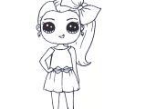 Cute Drawing Of Jojo Siwa Jojo Siwa Coloring Sheets Free Not Pritable Be Cause I Cant Print It