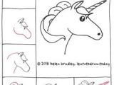 Cute Drawings Easy Unicorn 128 Best Kawaii and Doodles Drawings Step by Step Images Doodle