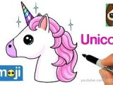 Cute Drawings Easy Unicorn How to Draw A Baby Unicorn Easy Beanie Boos Vloggest