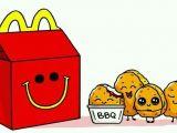 Cute Easy Food Drawings Chicken Nuggets Cute Easy Drawings Cute Kawaii Drawings