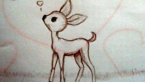 Cute Fawn Drawing Pin by Mikayla Lawrence On Illustration Draw Animal Drawings