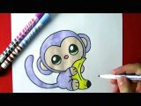 Cute Kiwi Drawing Kiwi Dessin Comment Dessiner Un Panda Kawaii Licorne Youtube