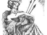 Cute Queen Drawing Queen Of Spades Queen Of Spades Queen Of Spades Queen Playing