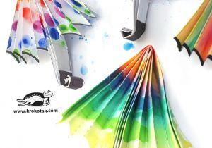Cute Umbrella Drawing Krokotak Paper Umbrella