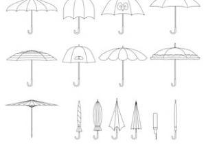 Cute Umbrella Drawing Open Umbrella Images Stock Photos Vectors Shutterstock