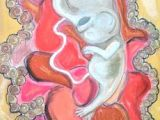 Cute Uterus Drawing Uterus Drawings Fine Art America