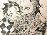 Demon Slayer Drawing Easy Kimetsu No Yaiba Inktober Tumblr